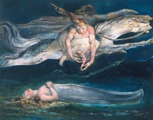 Pity circa 1795 by William Blake 1757-1827